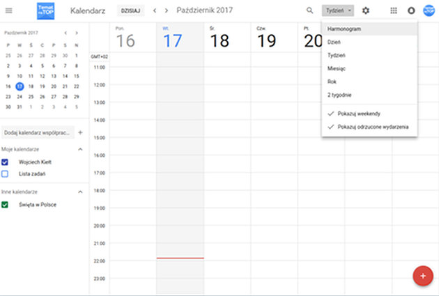 New Google Calendar UI available on the web