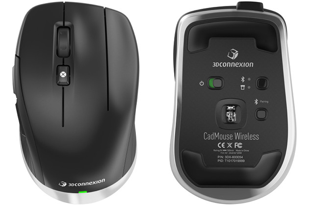 CadMouse Wireless dół