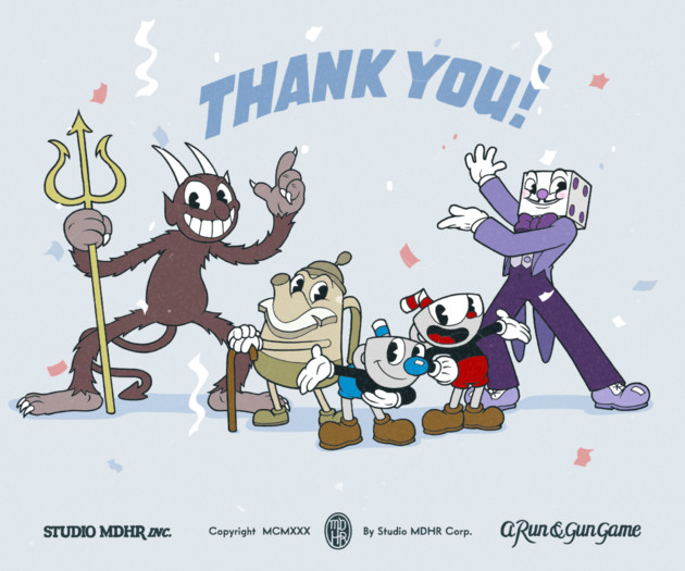 Cuphead Thank You