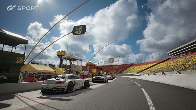 GT Sport auta tor