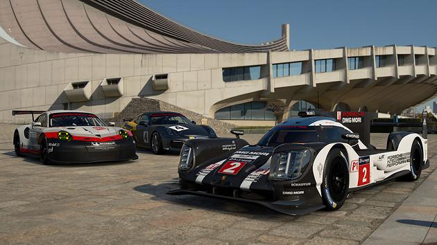 GT Sport auta wyścig