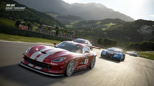 GT Sport premiera screen