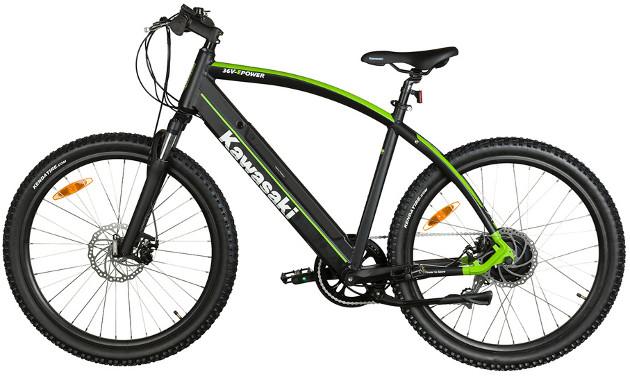 Kawasaki Electric Trekking MTB bok