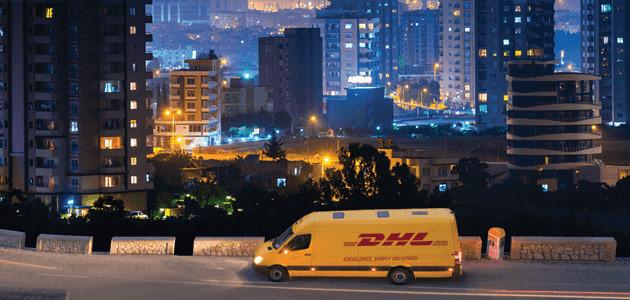 Kurier wieczór DHL