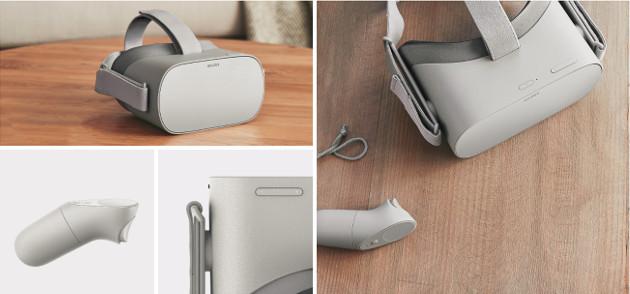 Oculus Go wygląd