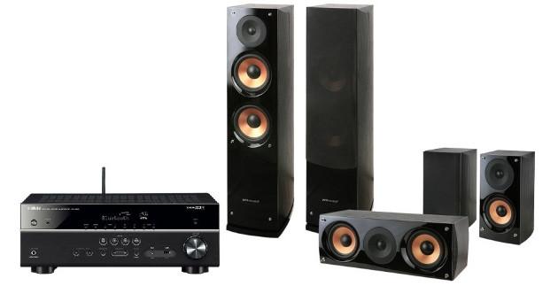 Yamaha MusicCast RX-V483 + Pure Acoustics NOVA 6