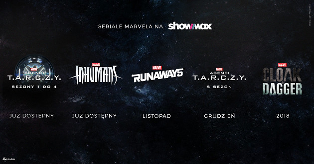 Showmax Marvel