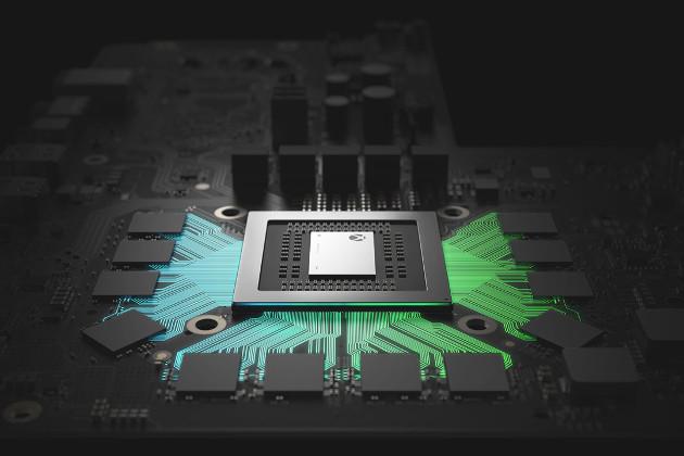 Xbox One X układ