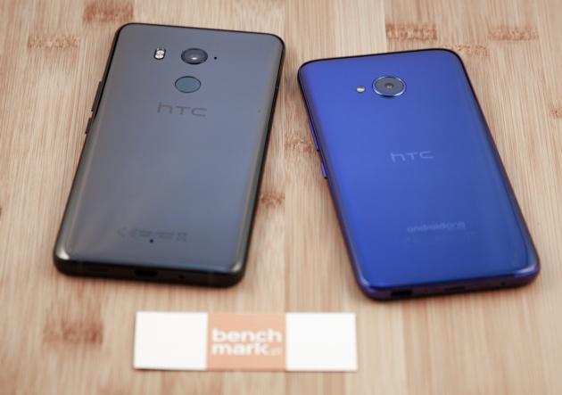 HTC U11+ i U11 life porównanie