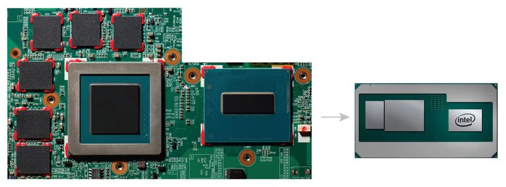 Intel - procesor z grafiką AMD i pamięcią HBM2