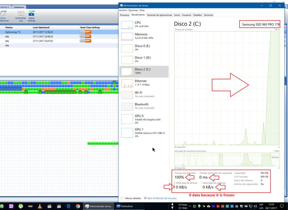 Samsung SSD 960 PRO - problem z działaniem dysku