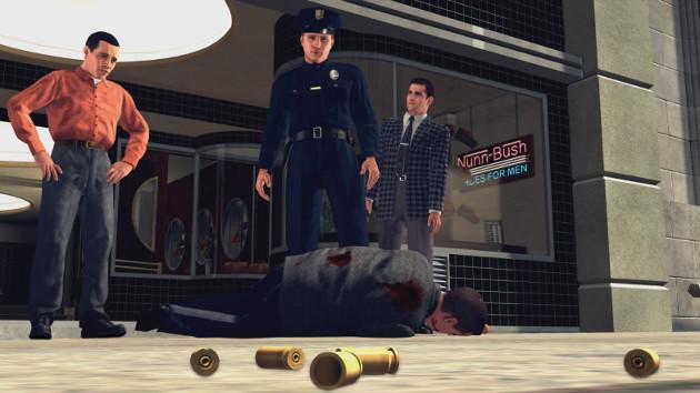 L.A. Noire gra screen