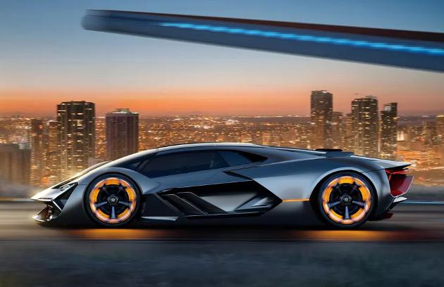 Lamborghini Terzo Millennio bok