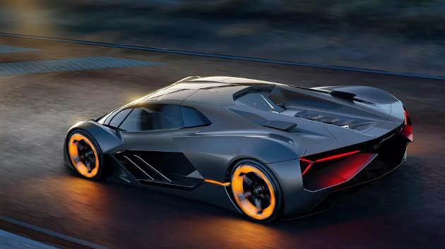 Lamborghini Terzo Millennio góra