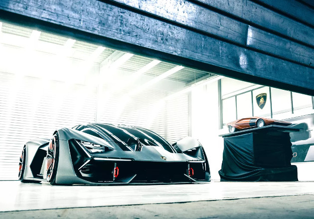 Lamborghini Terzo Millennio przód