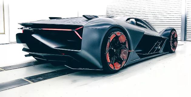 Lamborghini Terzo Millennio róg