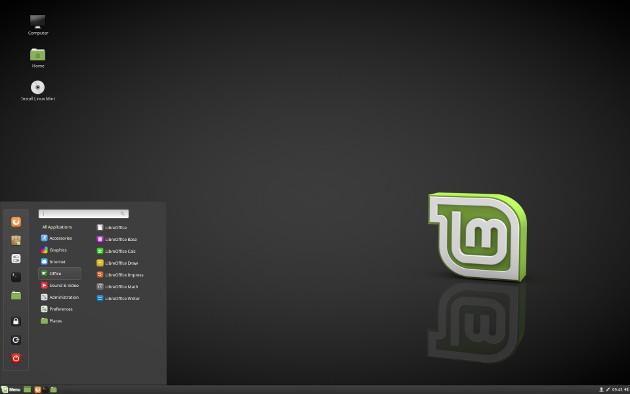 Linux Mint 18.3 Cinnamon
