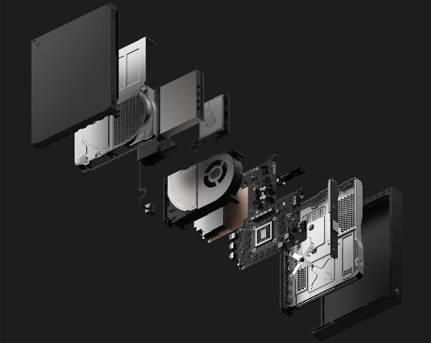 Xbox One X części