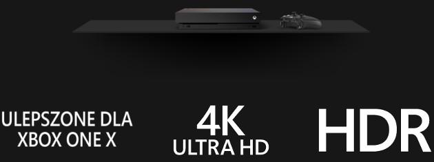 Xbox One X ulepszone