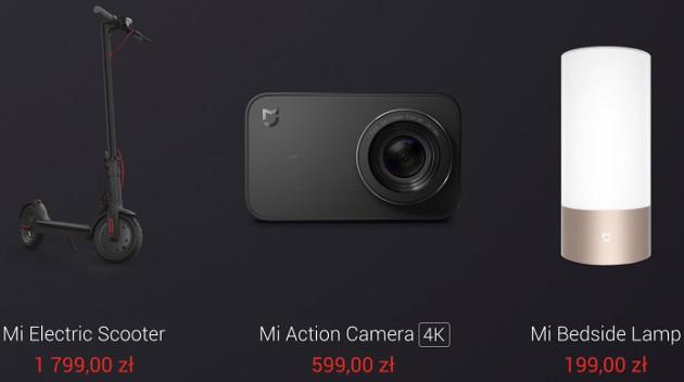 Xiaomi gadżety