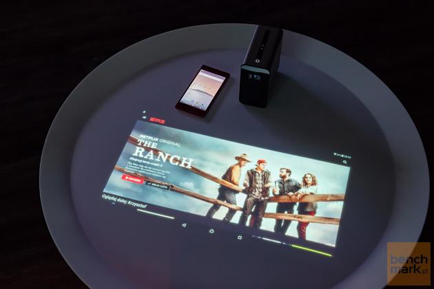 Sony Xperia Touch jasność