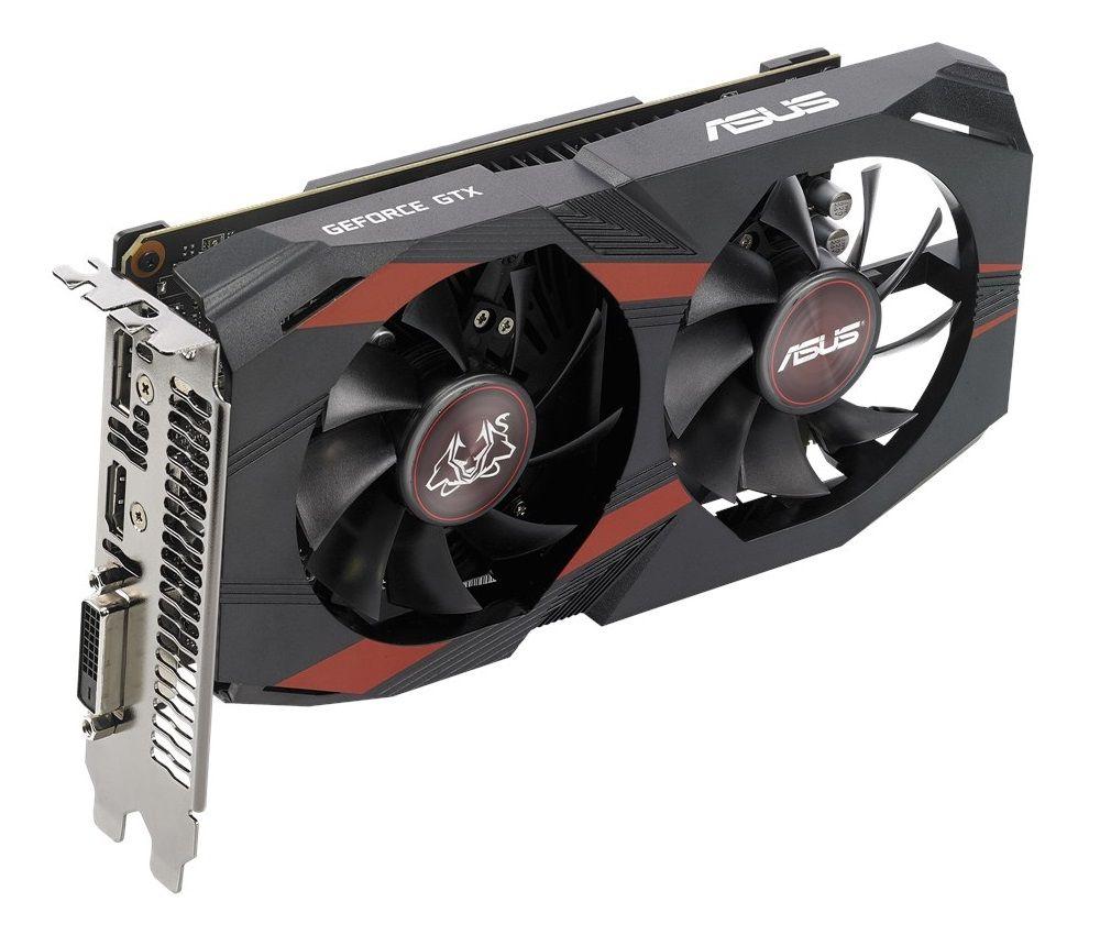 ASUS GeForce GTX 1050 Ti Cerberus