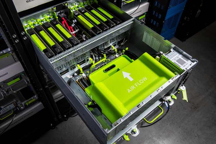 Nvidia - centrum danych