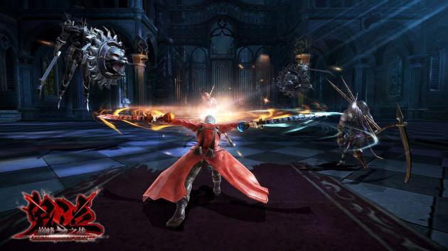 Devil May Cry: Pinnacle of Combat screen Dante