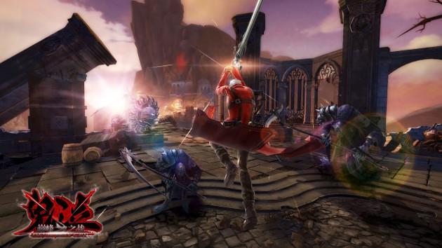 Devil May Cry: Pinnacle of Combat screen skok