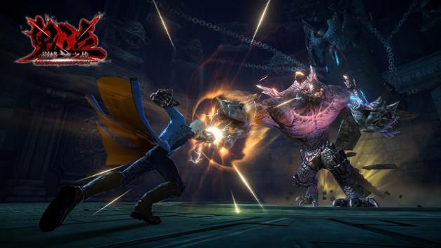 Devil May Cry: Pinnacle of Combat screen walka