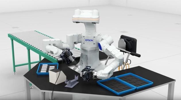 Epson WorkSense W-01 robot