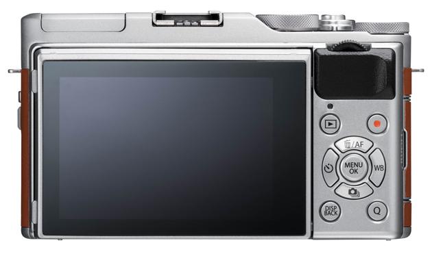 Fujifilm X-A5 tył LCD