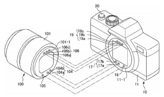 Nikon bezlusterkowiec schemat