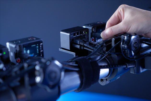 Sony RX0 i CCB-WD1 łączenie kamer