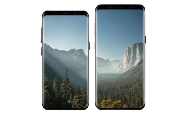 Galaxy S9 i Galaxy S9+ render