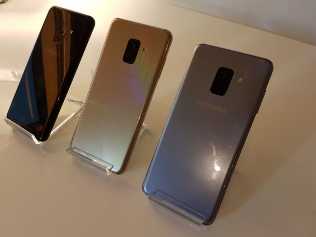 Galaxy A8 kolory