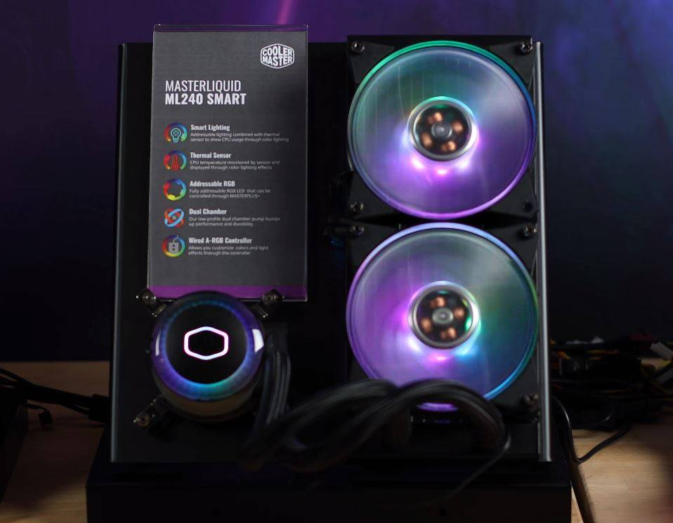 Cooler Master masterLiquid ML240 Smart