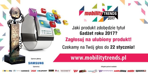 Mobility Trends 2017 gadżet