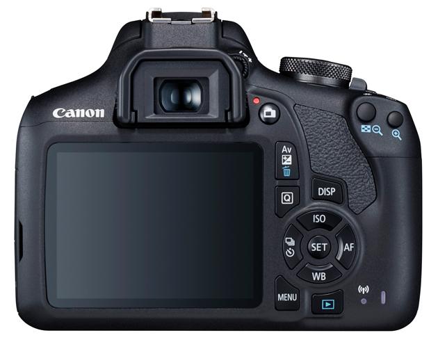 Canon EOS 2000D tył LCD
