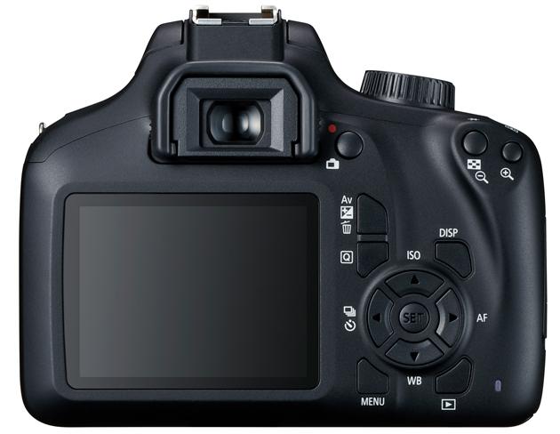 Canon EOS 4000D tył LCD
