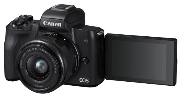 Canon EOS M50 odchylony ekran