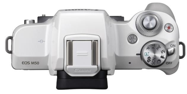 Canon EOS M50 widok góra
