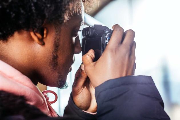 Canon EOS M50 wizjer elektroniczny