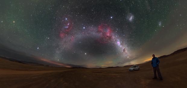 Niebo w Chile P. Horálek/ESO