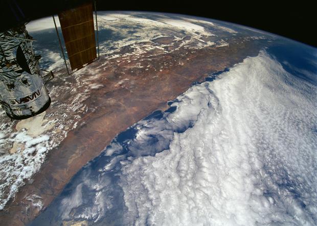 Chile widziane z orbity
