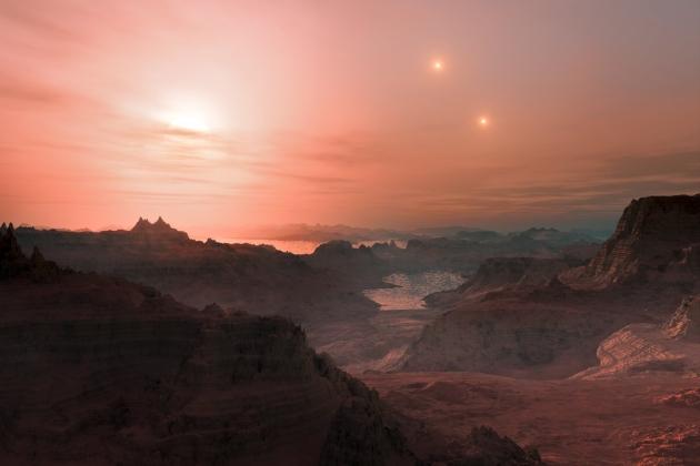 Wizja planeta pozasłoneczna