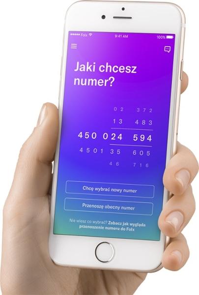 Folx wybór numeru
