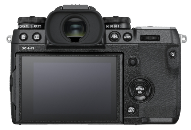 Fujifilm X-H1 ekran