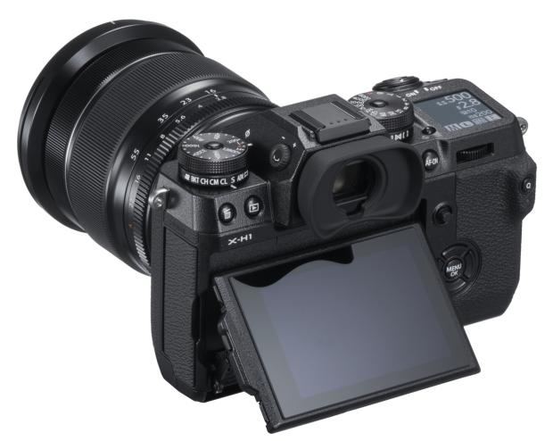 Fujifilm X-H1 widok tył ekran