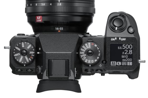 Fujifilm X-H1 widok góra
